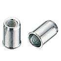 M3 x 9mm Reduced CSK Head Rivet Nut BZP per Box of 100