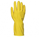 Household yellow glove X Large Size 10 per Box of 12