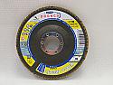 115mm Zirconium GAZA Tapered Dronco Flap discs P80 grit per Box of 10
