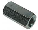 M6 x 18 Studding Connectors BZP per Box of 250