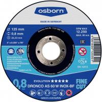Dronco 230mm x 1.9mm x 22.2mm Bore Evolution AS 46 v1.6 INOX Slitting disc per Box of 25